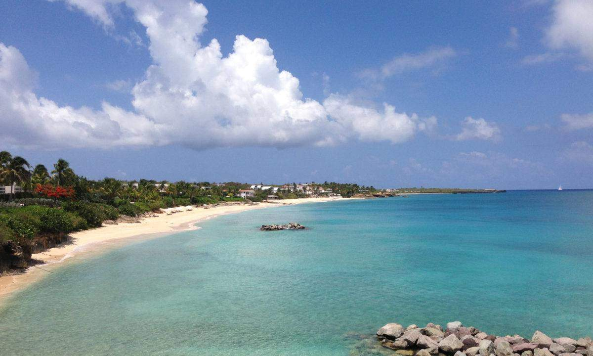 Barnes Bay from the Viceroy Anguilla