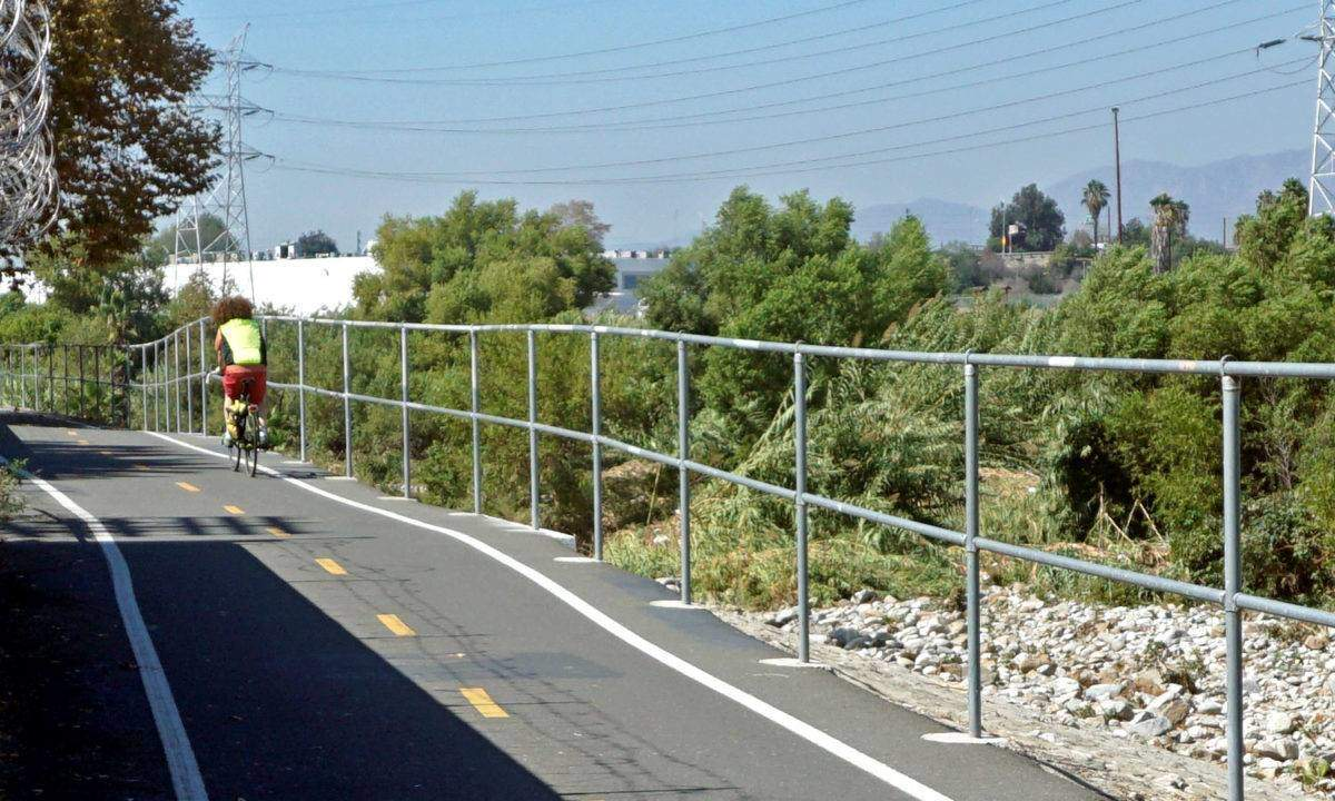 The LA River Bike Path