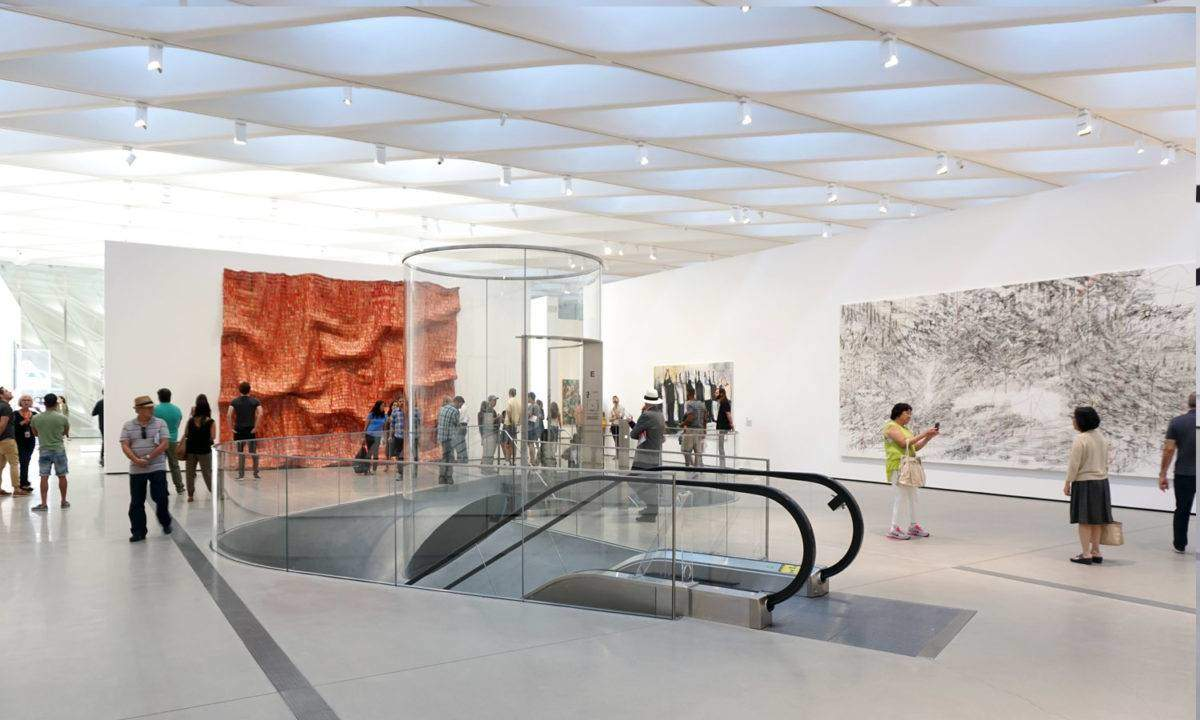 Art Gallery Calendar Los Angeles : A closer look at the broad museum in la flung