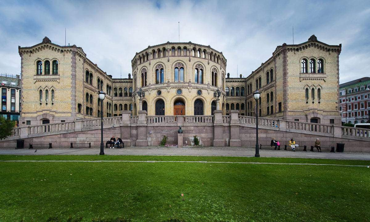 Photo credit gcardinal from Norway (Stortinget, Oslo, Norway) [CC BY 2.0 (http://creativecommons.org/licenses/by/2.0)], via Wikimedia Commons