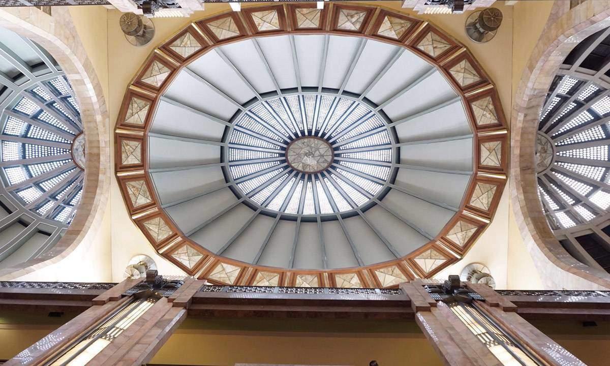 Ceiling of the Palacio de Bellas Artes
