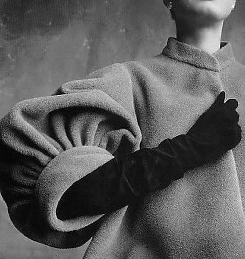 Coat sleeve, 1950.