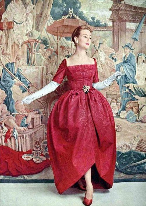 Evening gown, 1956.