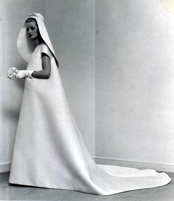 Wedding dress, 1967.