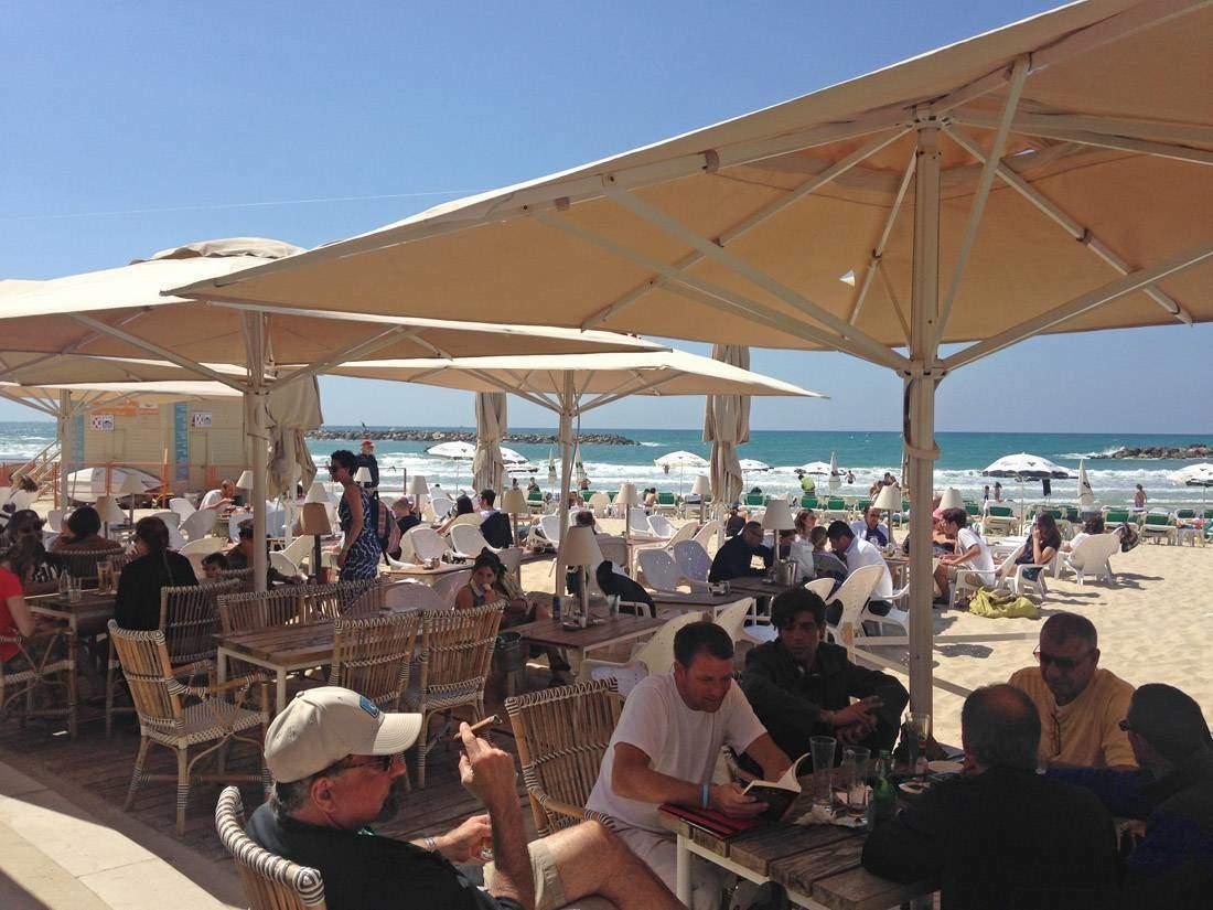 Tel Aviv Beach Cafe