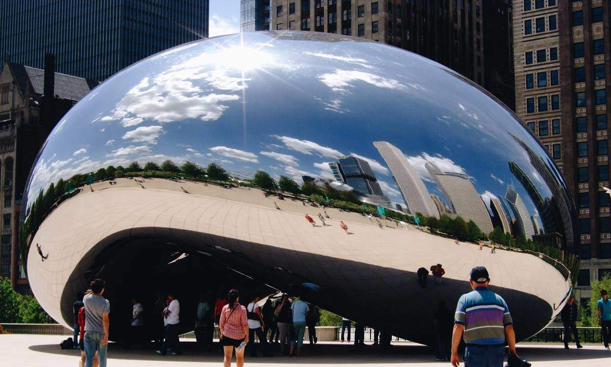 Cloud Gate, by Anish Kapoor