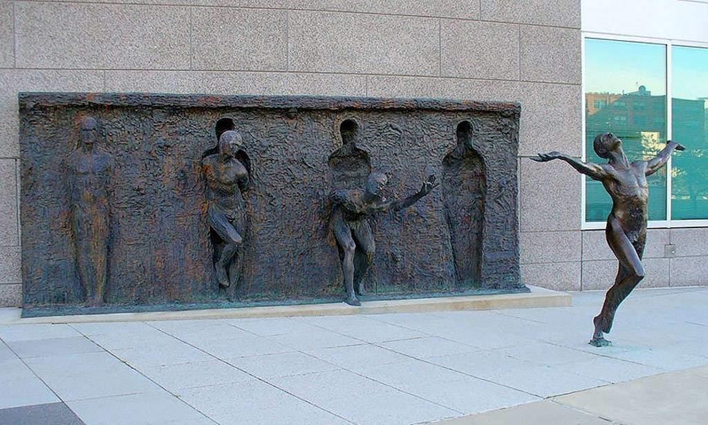 Freedom Sculpture, by Zenos Frudakis