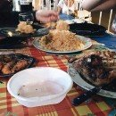 Chez Emy, the best little restaurant in Guadeloupe.
