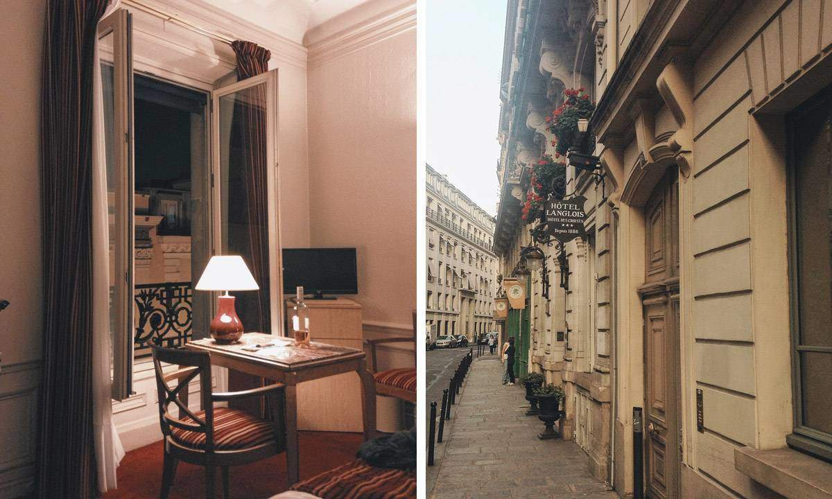 The Hotel Langlois in Paris