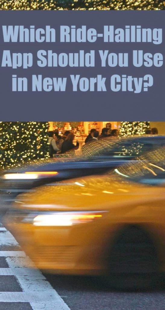 From Uber to Lyft to all the others, which one works best in the Big Apple?