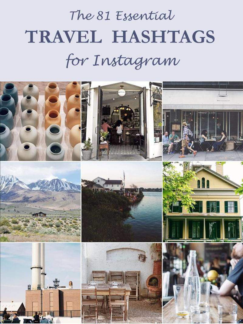 81 Essential Instagram Hashtags Pin