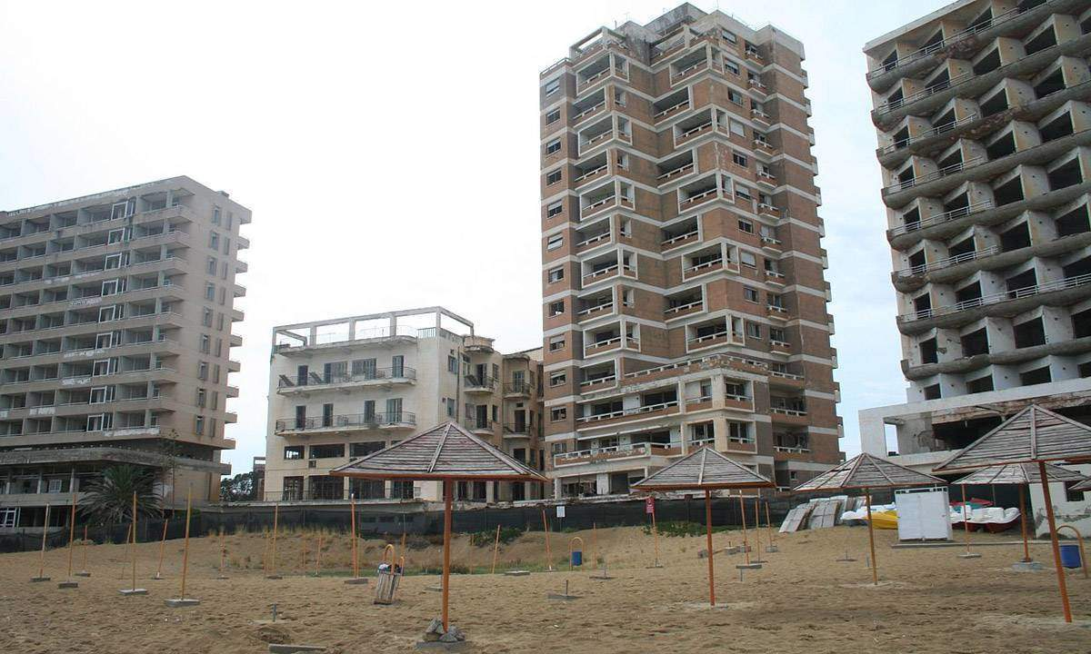 The resort area of Varosha was abandoned in 1974 when the mostly Greek residents fled a Turkish invasion.