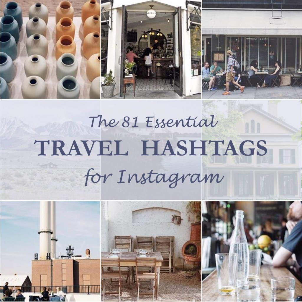 The 81 Essential Hashtags for Instagram