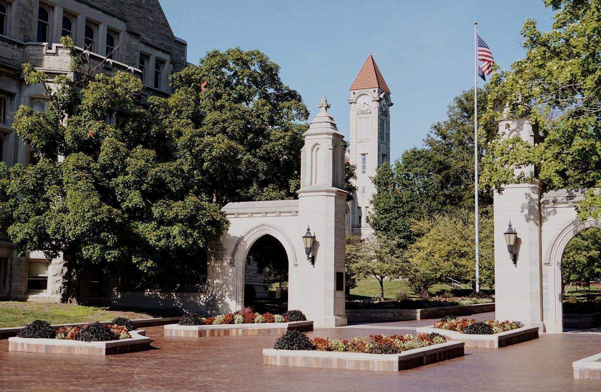 The Sample Gates at Indiana University