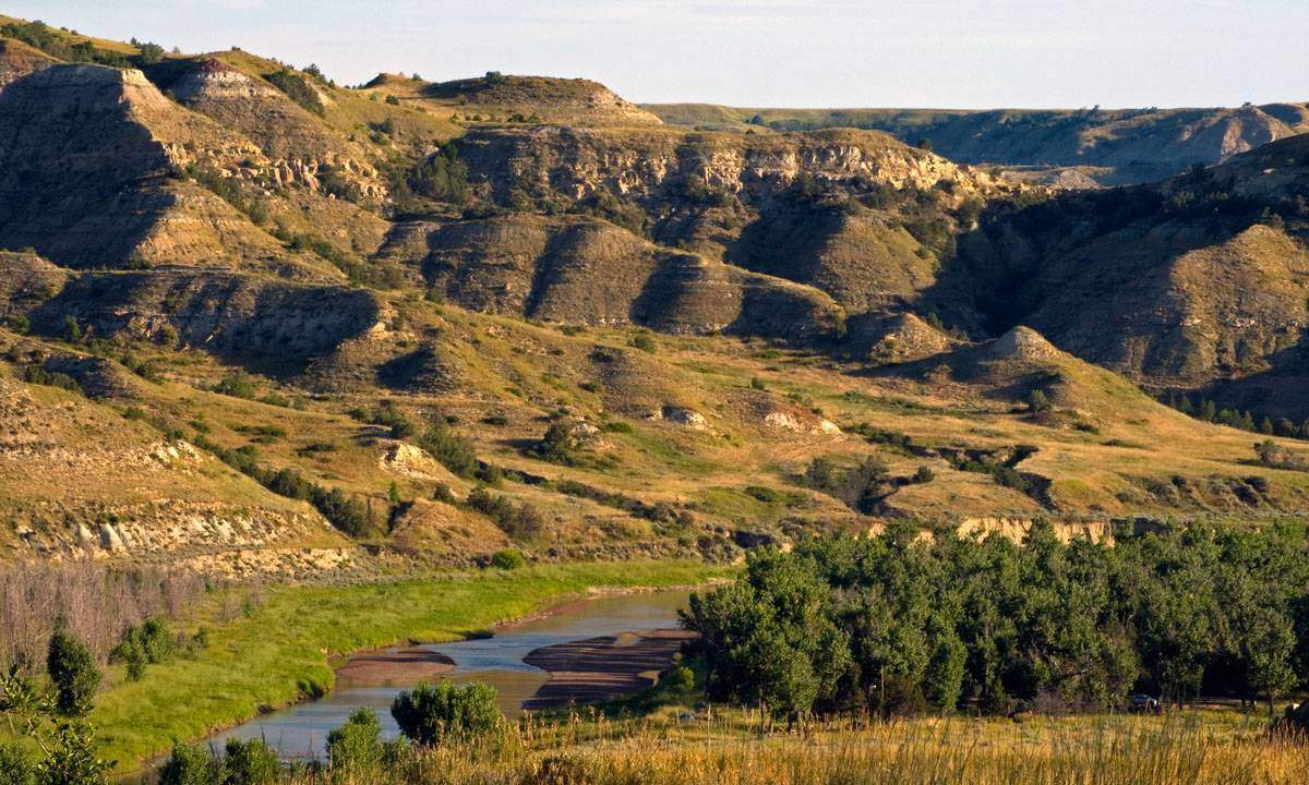 Theodore Roosevelt National Park. Photo credit Tom Kelly via Flickr Commons.