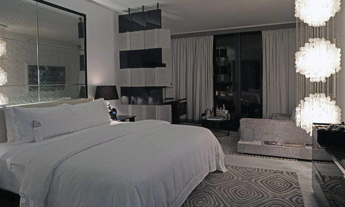 Room at the W South Beach