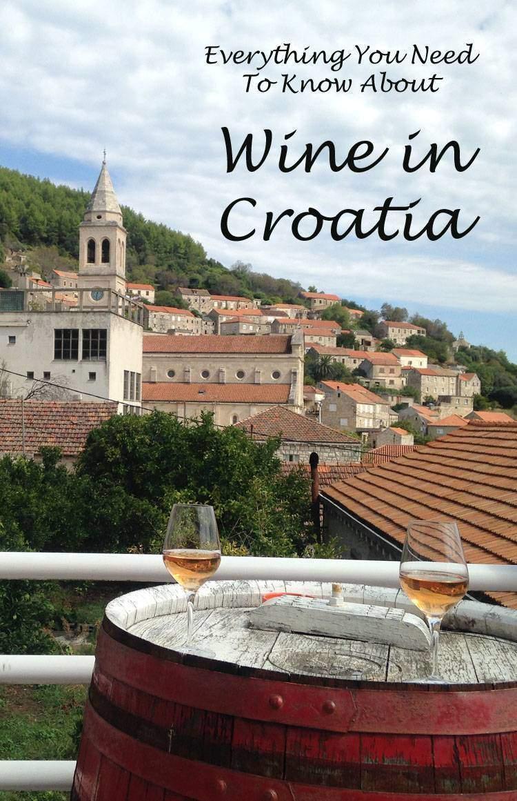 Croatian Wine Pin