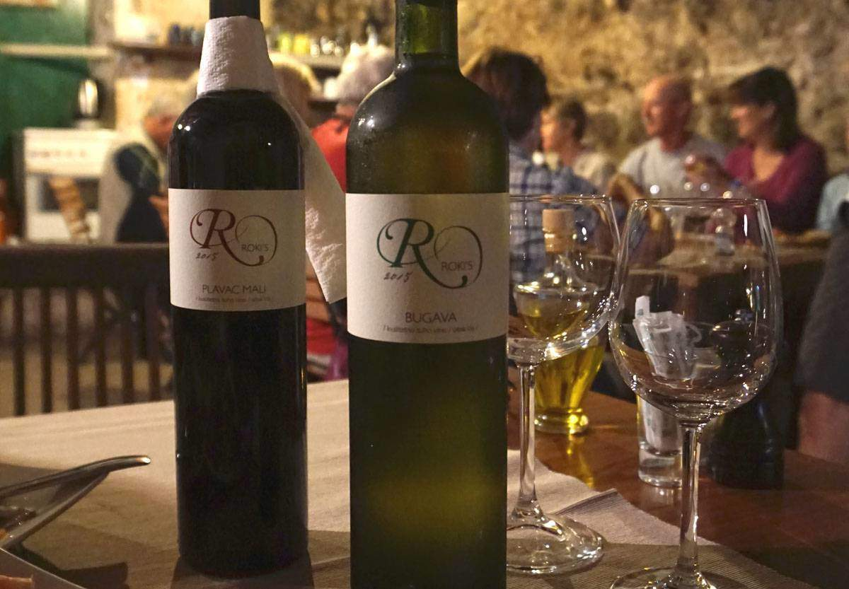 Lunch at Roki's Winery. Photo credit Sarah Stodola