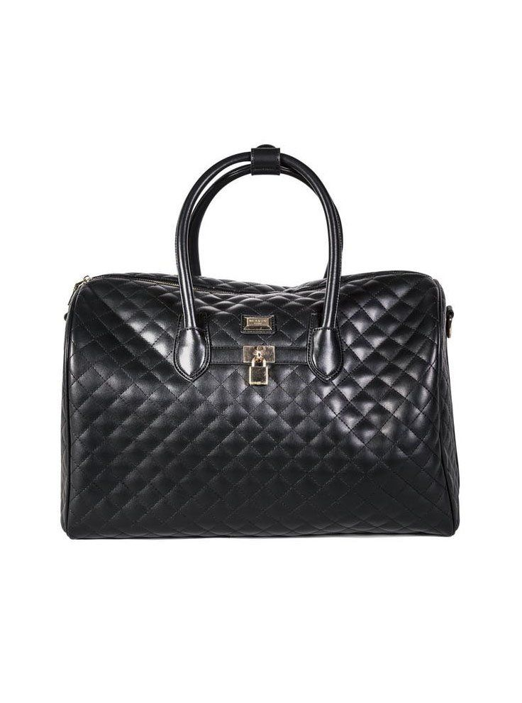 Reason Clothing Townline Quilted Weekender Bag on Spring