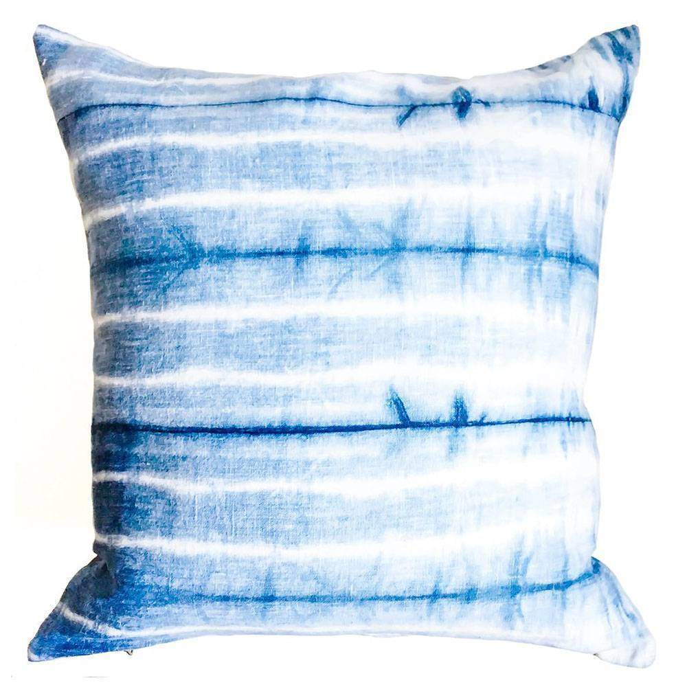 Shibori pillow square