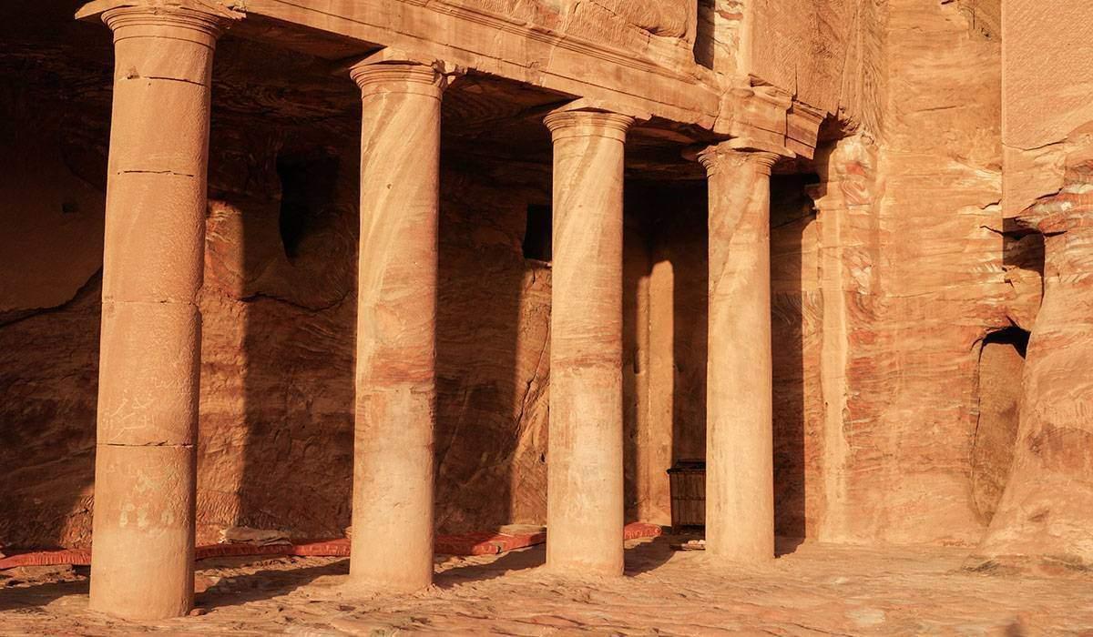 Petra Columns