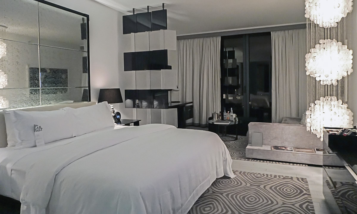 Our room at the W South Beach