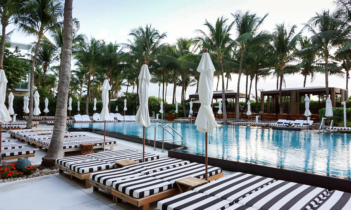 Pool at the W South Beach