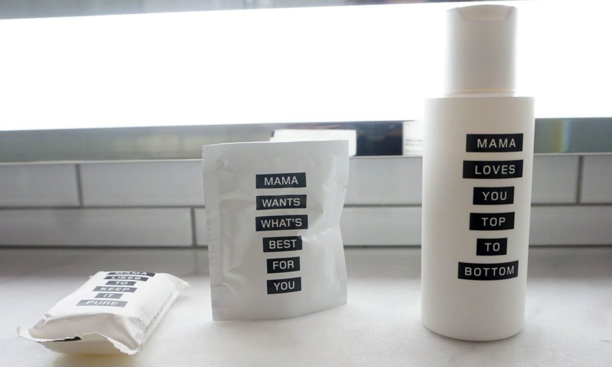 Mama Shelter Toiletries