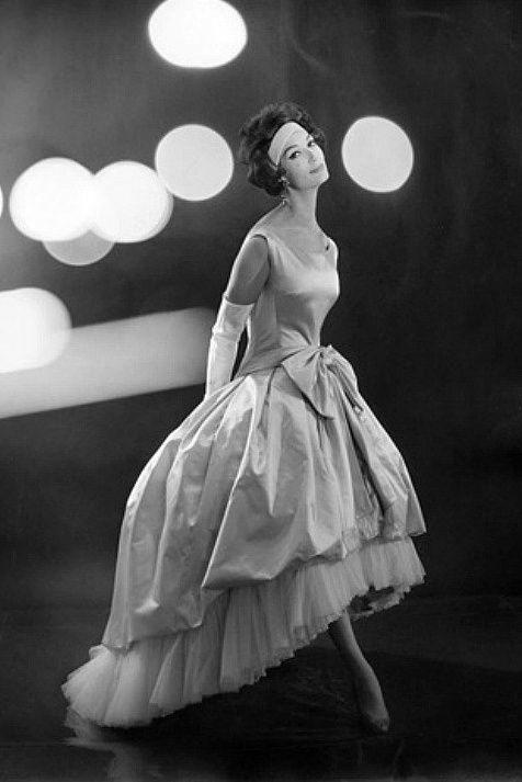 Evening gown, 1959.