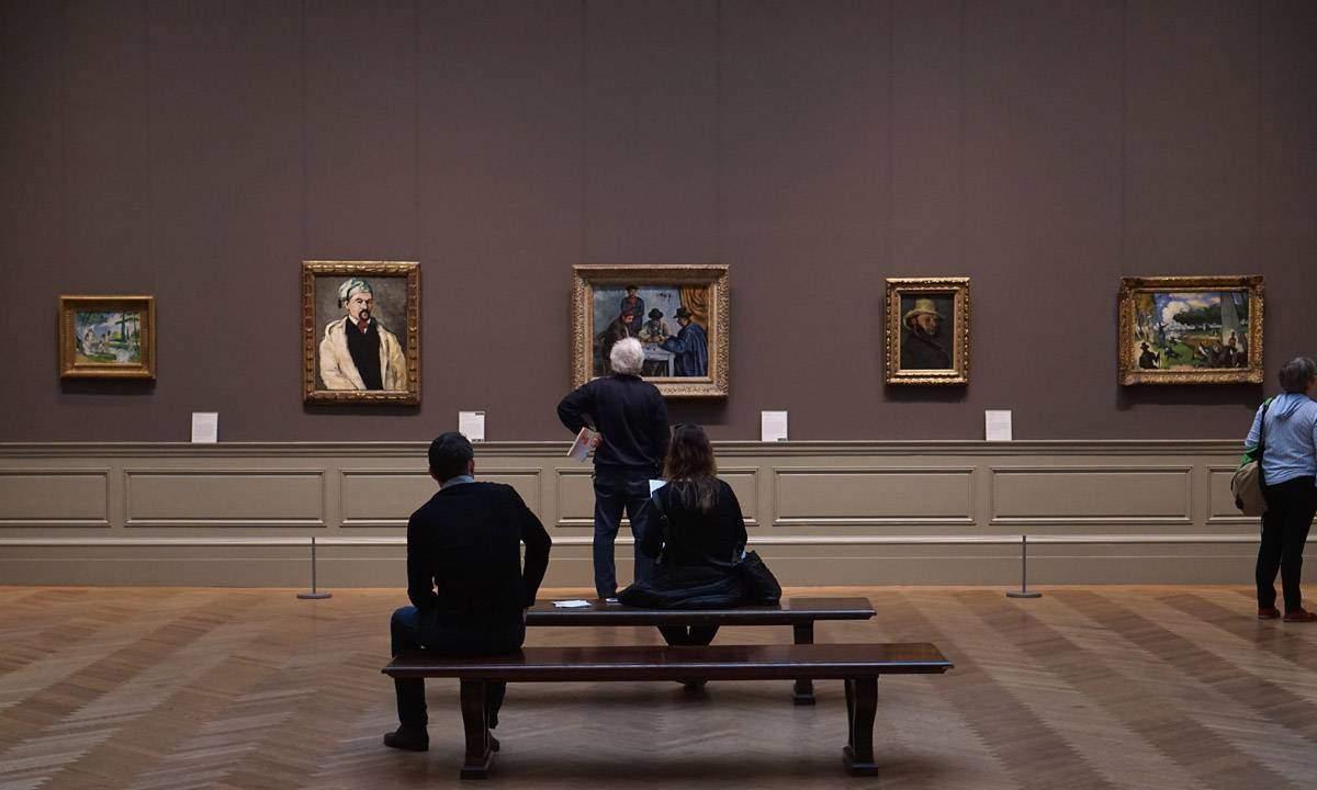 Cezanne Gallery at the Met