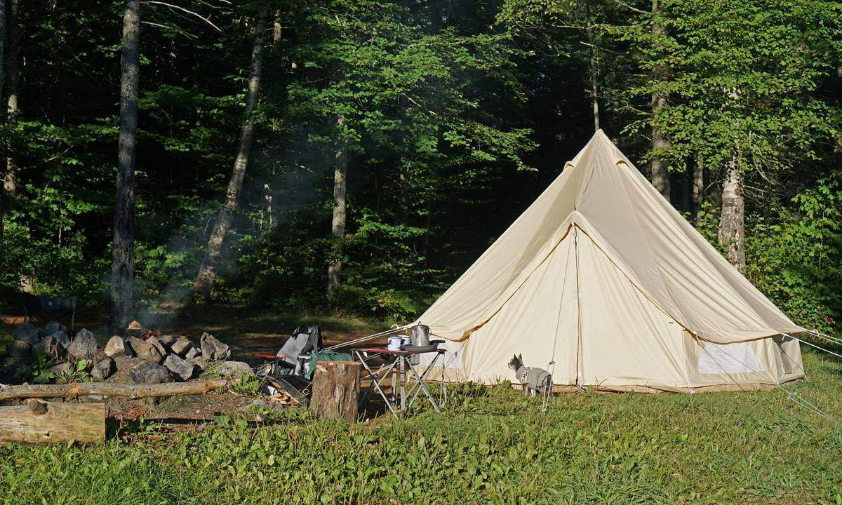 September 16 ... & How To Put Up a Bell Tent | Flung