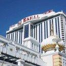 The Trump Taj Mahal, one of 5 shuttered casinos in Atlantic City.