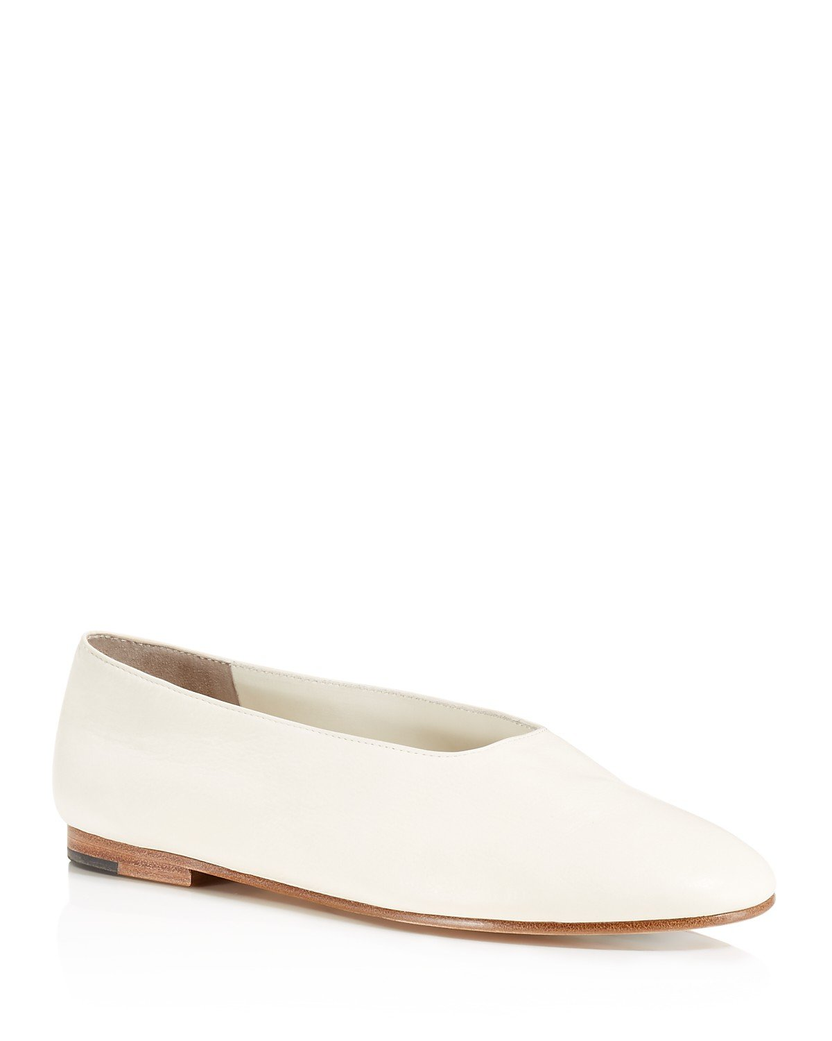 Vince Maxwell Leather Flats