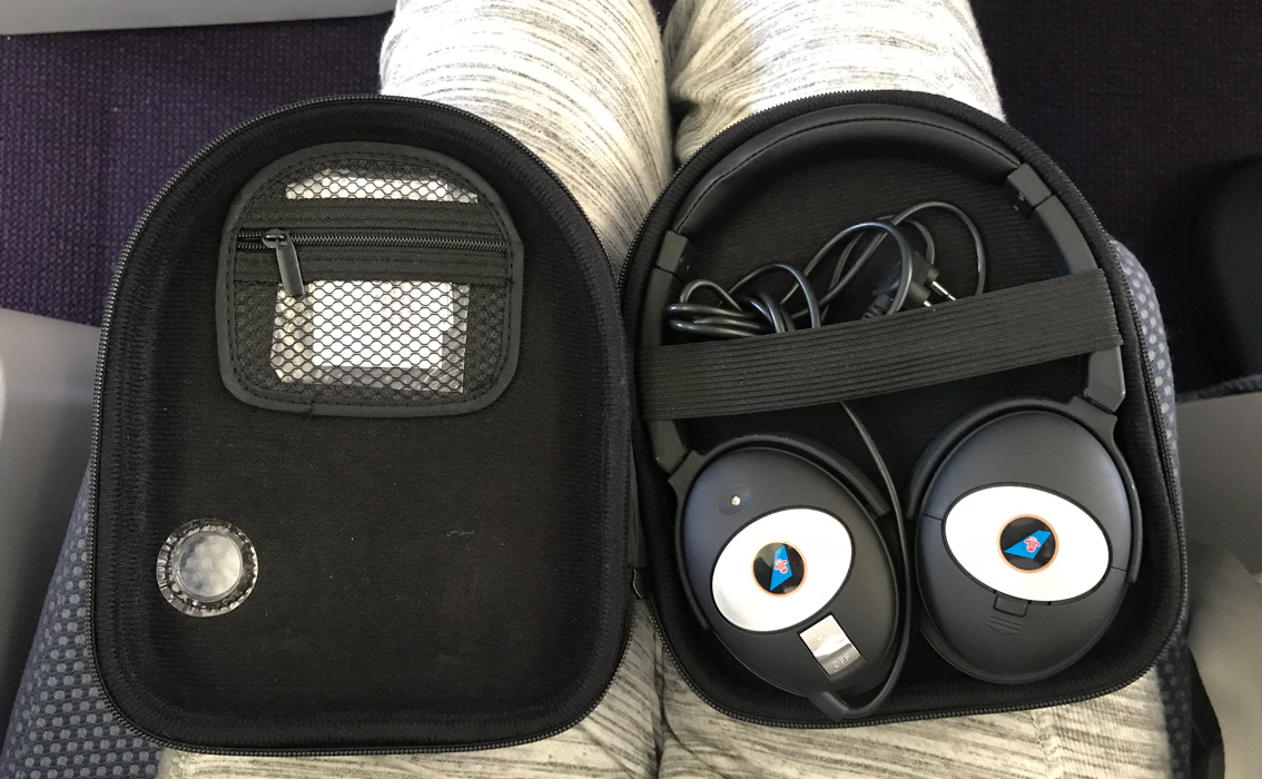 China Southern Business Class Headphones