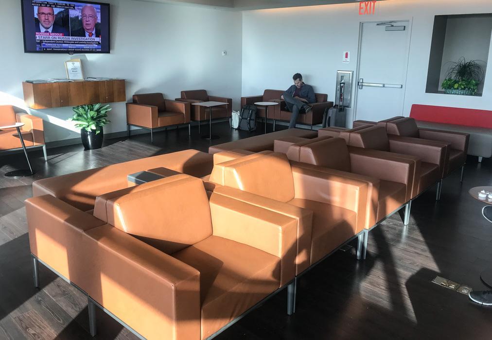 Wingtips Lounge at JFK Terminal 4