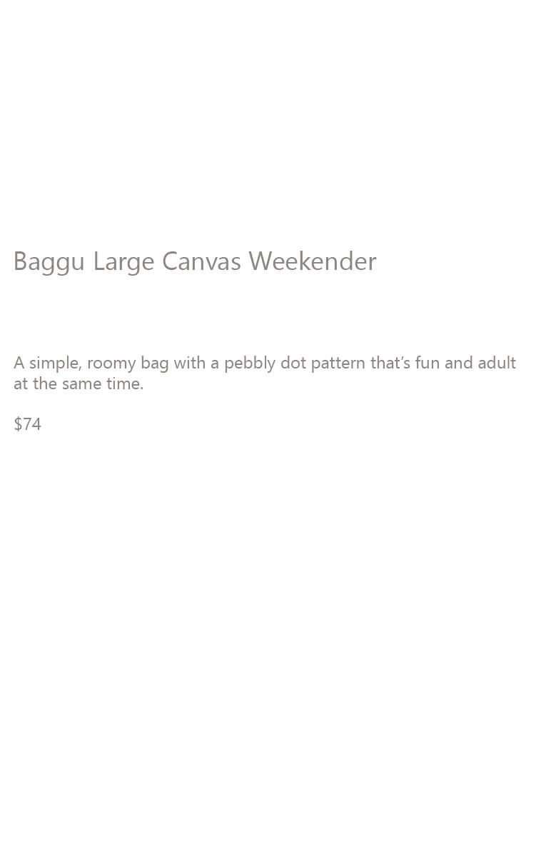 Baggu Canvas Weekender Description2
